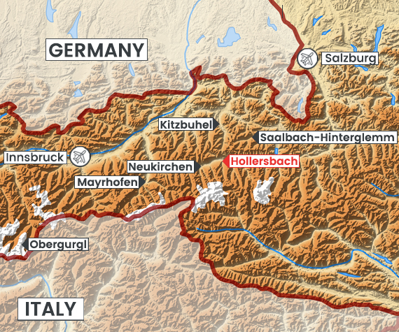 Hollersbach map