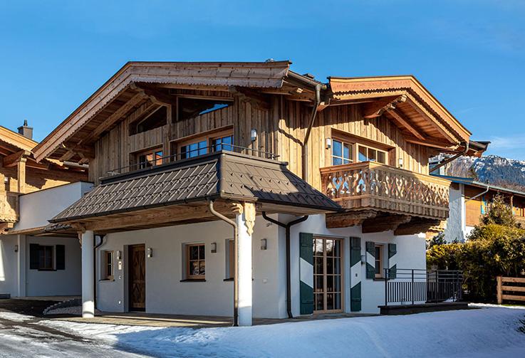 Kitzbuhel, Schwarzsee Chalet