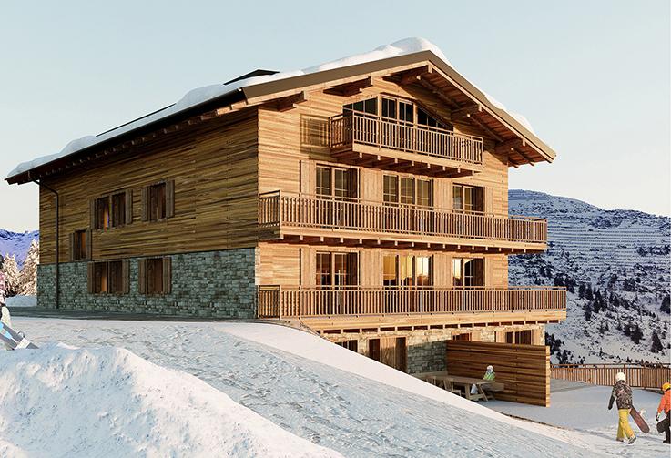 Lech, Ski Apartments