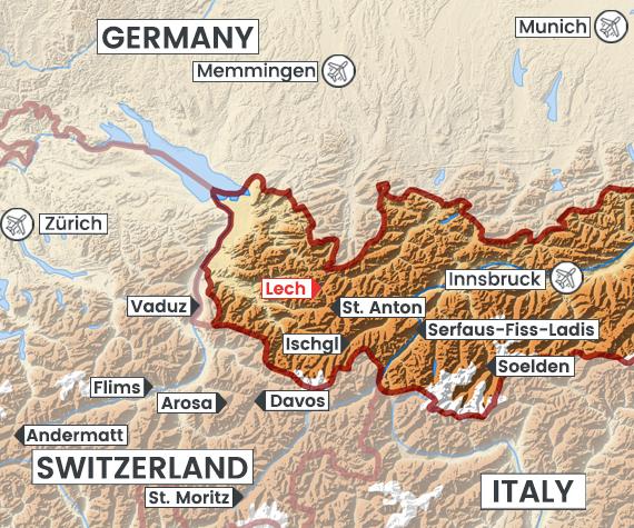 Lech map