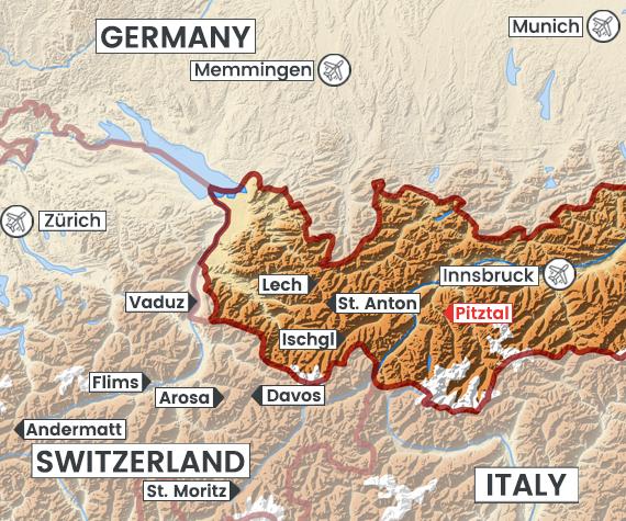 Pitztal map
