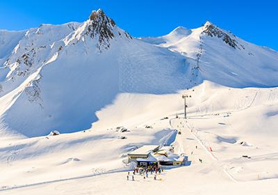 The Skiing, Serfaus-Fiss-Ladis, Austria