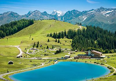 Summer, Serfaus-Fiss-Ladis, Austria