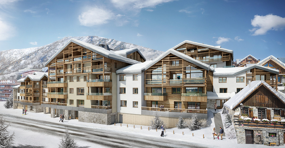 Les Fermes de l'Alpe Apartments, France