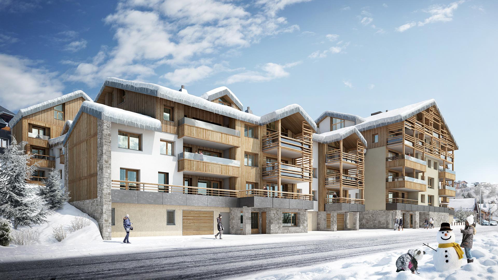 Les Fermes de l'Alpe Apartments, France