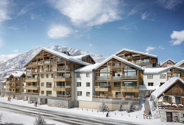 Alpe d'Huez, Les Fermes de l'Alpe