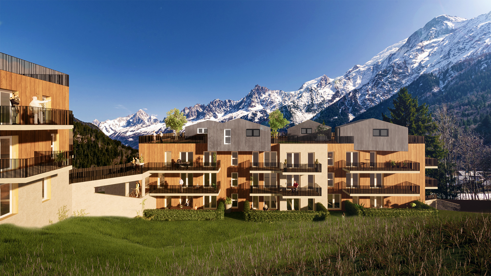 Les Mazots de Kayla Apartments, France