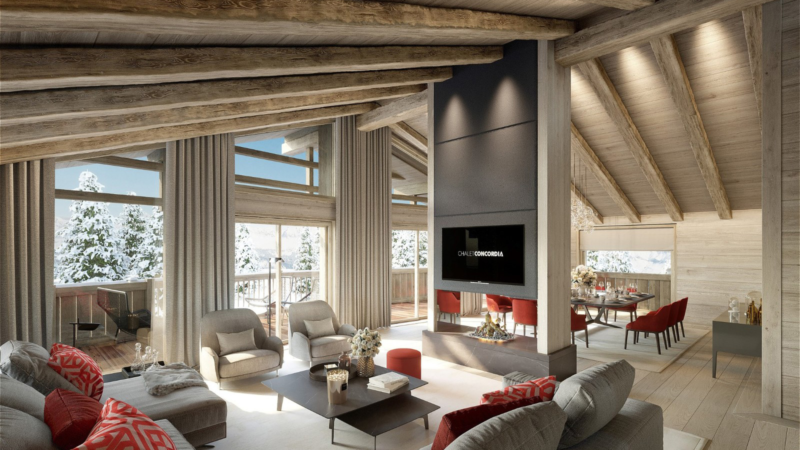 Chalet Concordia Chalet, France