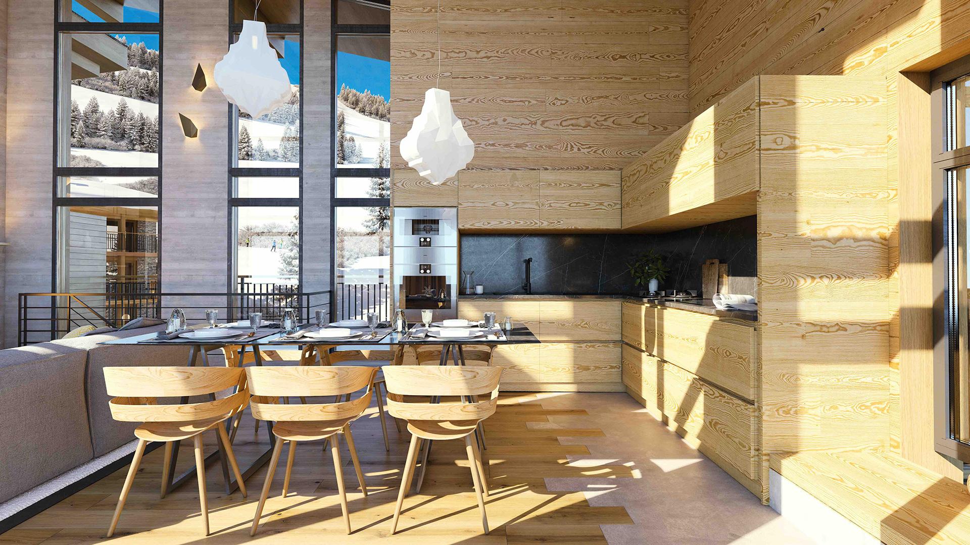 Les Cristaux Apartments, France