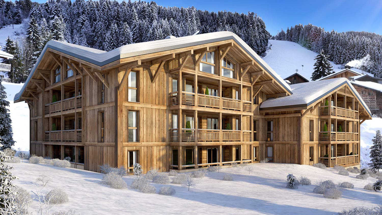 Le Genepi Apartments, France