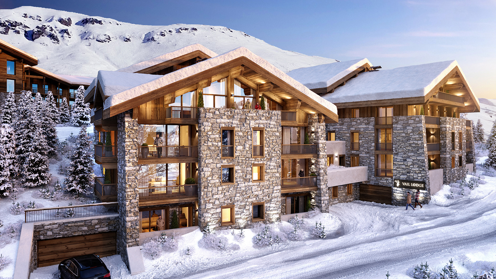 Vail Lodge Apartments, France