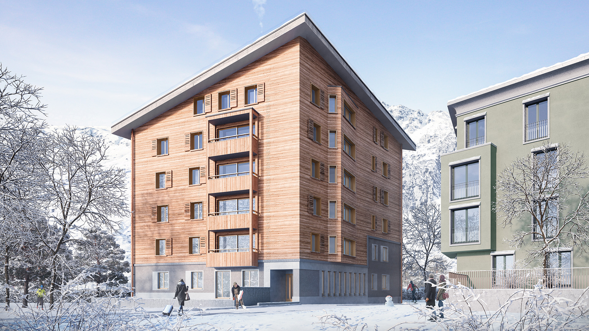 House Arve Apartments, Switzerland