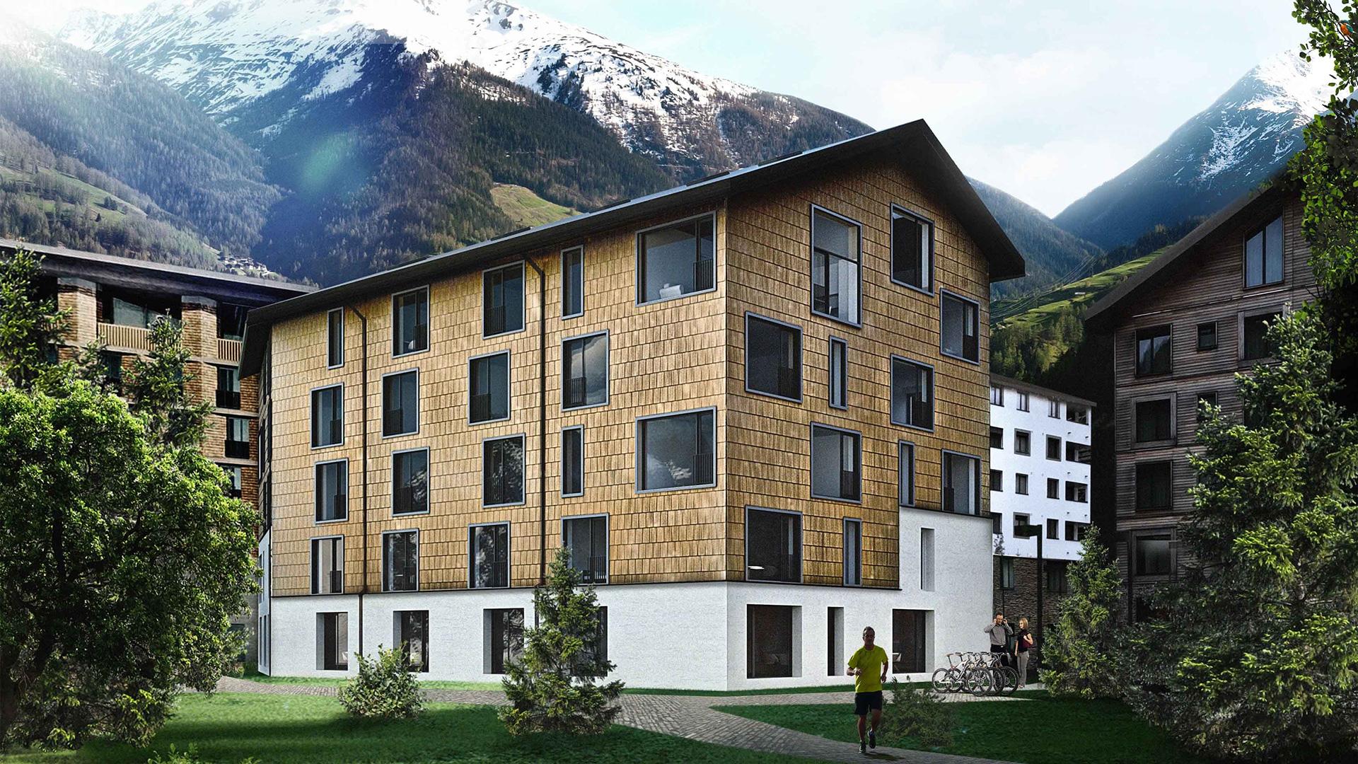 House Eisvogel Apartments, Switzerland