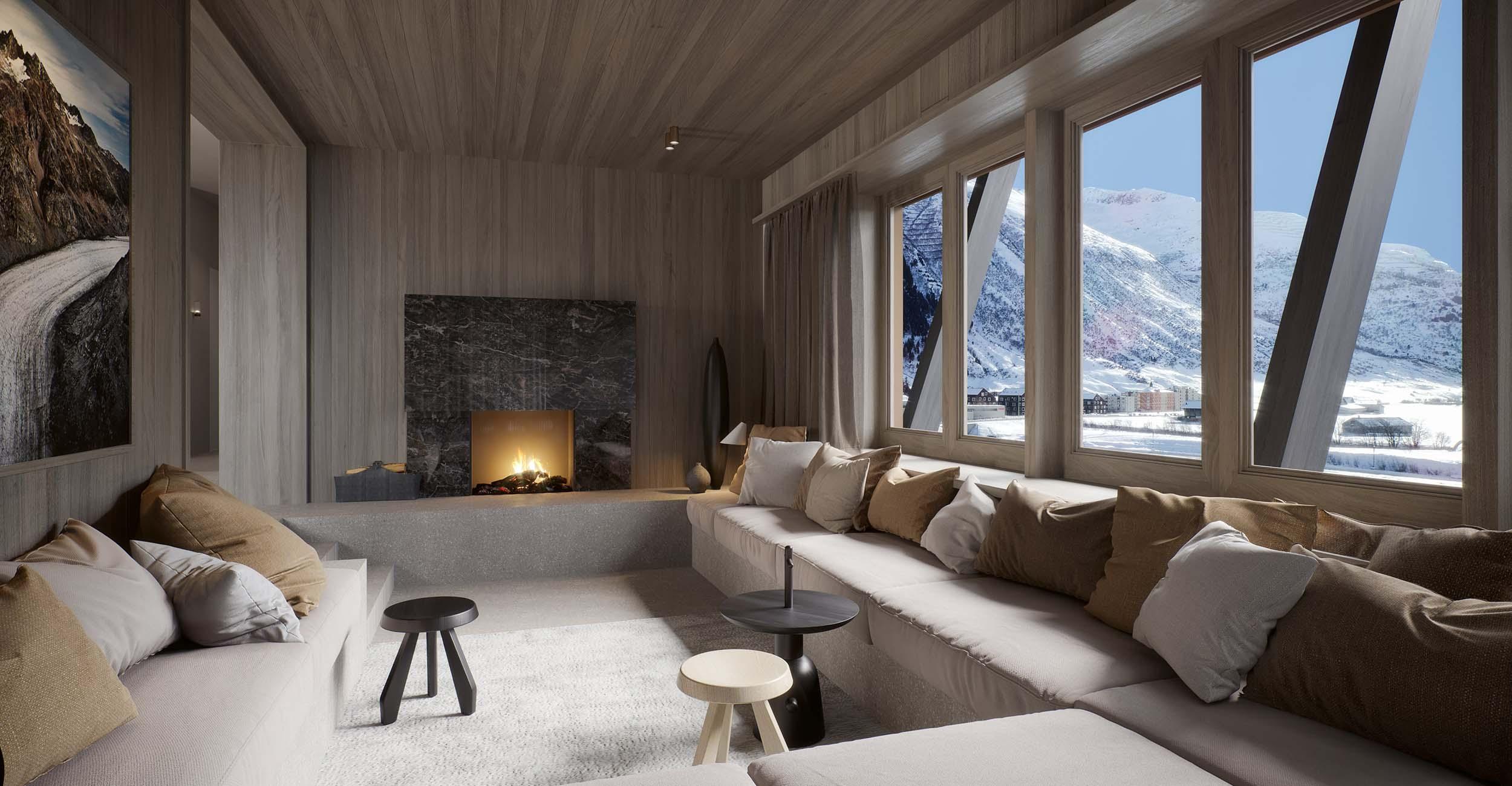 House Alma Apartments, Switzerland
