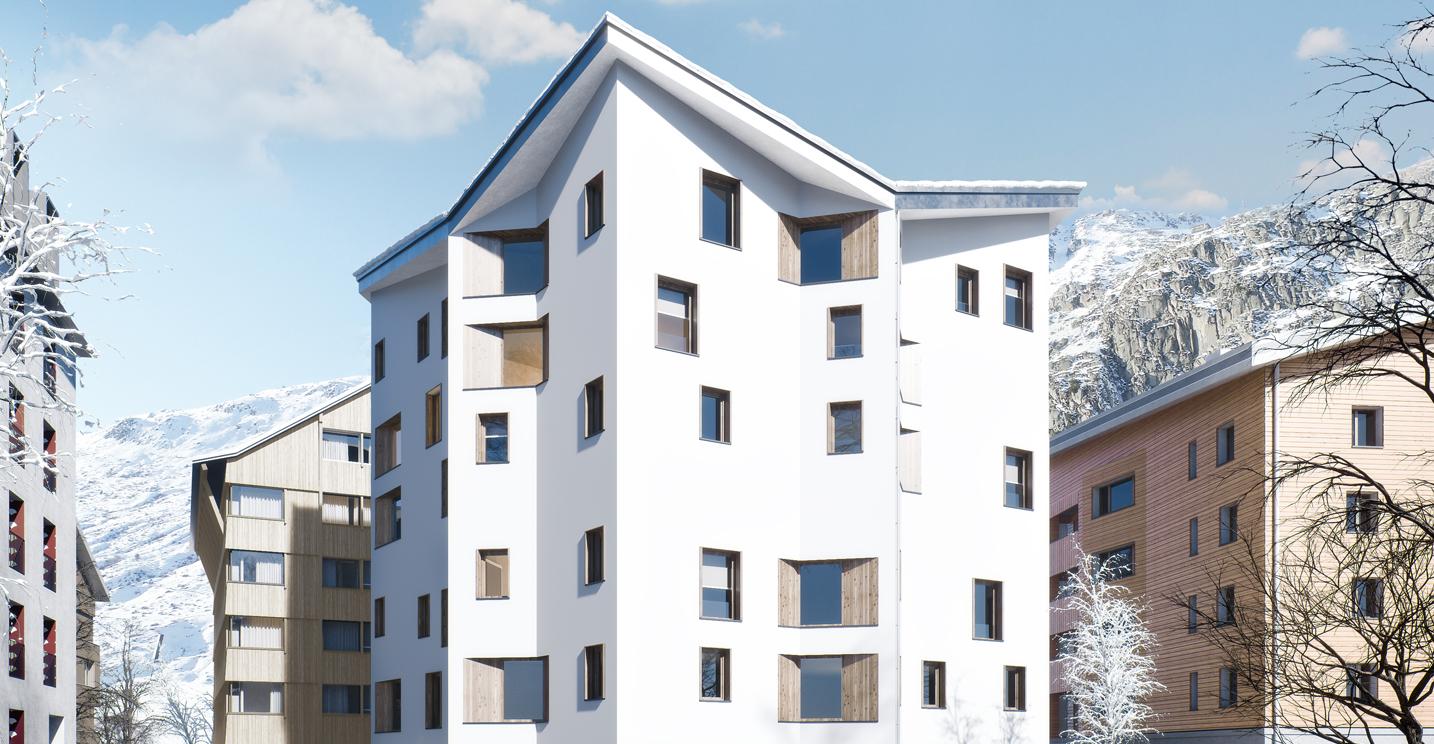 House Frame Apartments, Switzerland