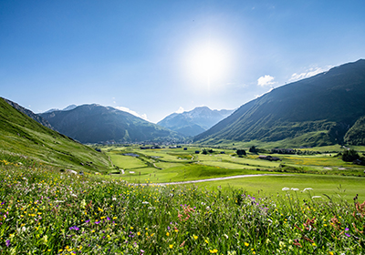 Summer, Andermatt, Switzerland