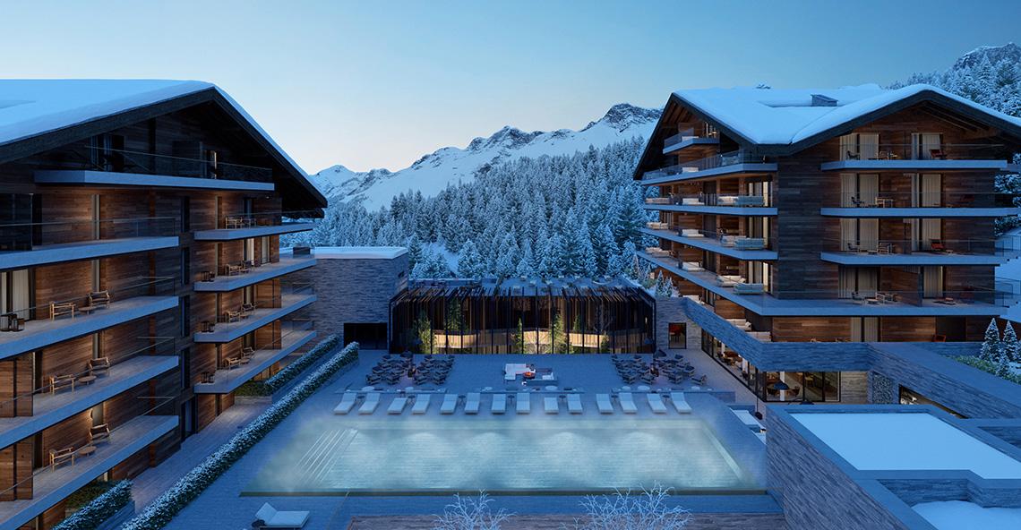 Six Senses Residences Apartments, Switzerland