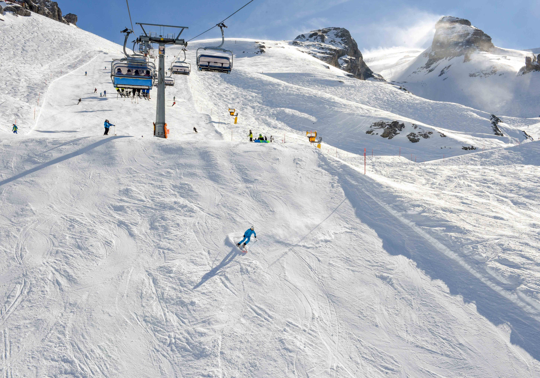 The Skiing, Engelberg, Switzerland