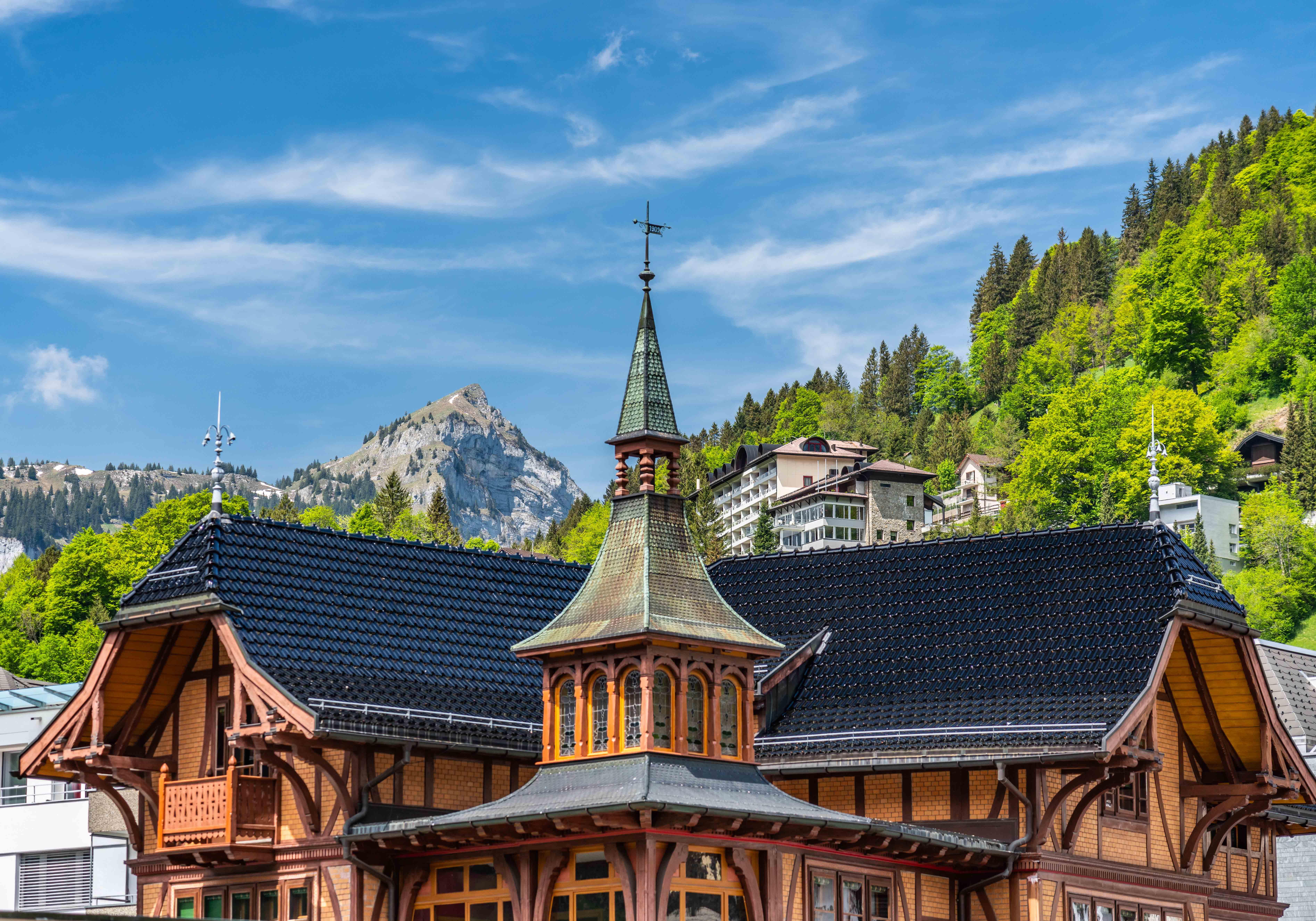 Summer, Engelberg, Switzerland