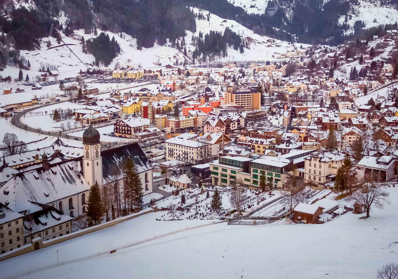 The Town, Engelberg, Switzerland