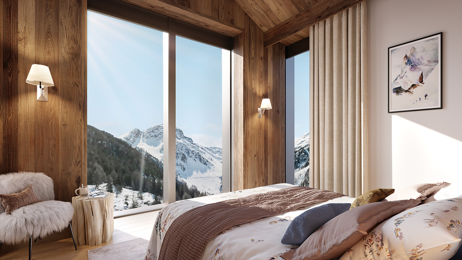 Guerneres Chalets Chalet, Switzerland