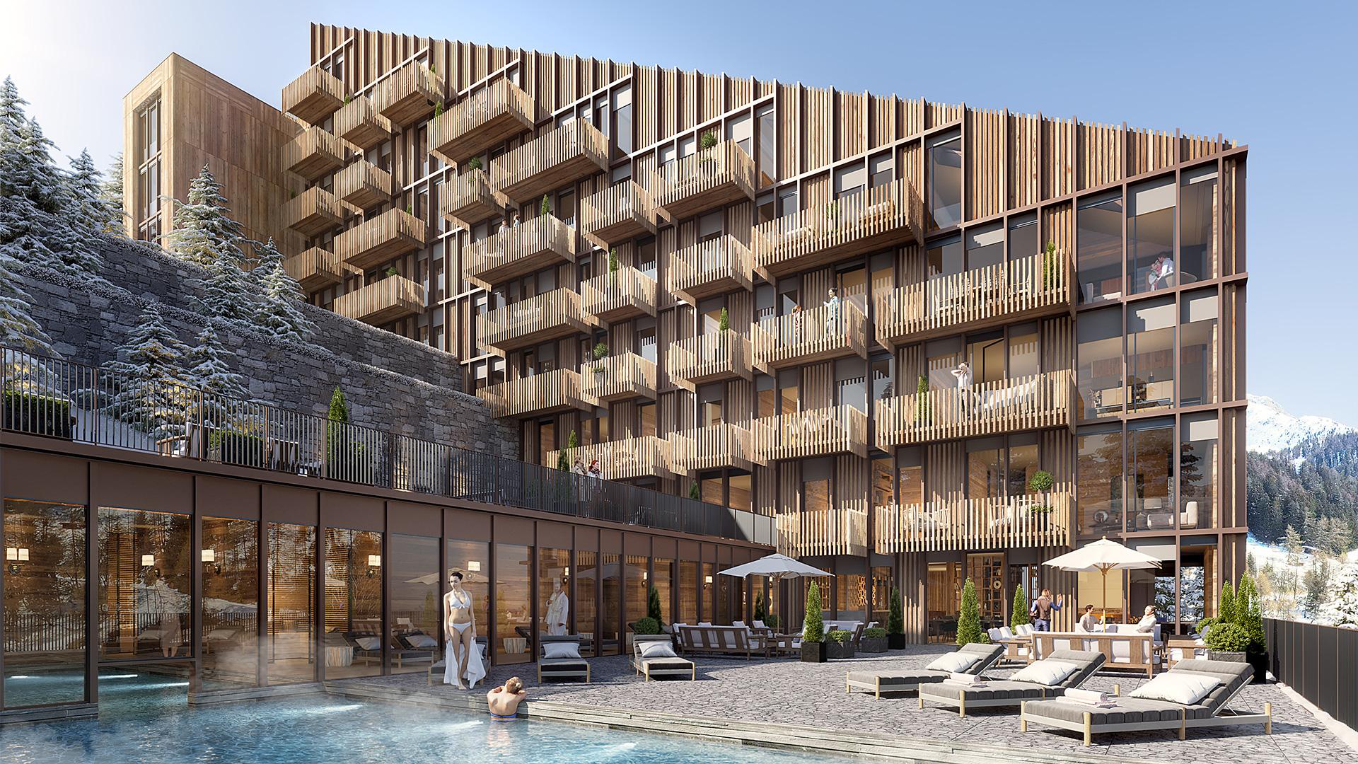 La Residence Apartments, Switzerland