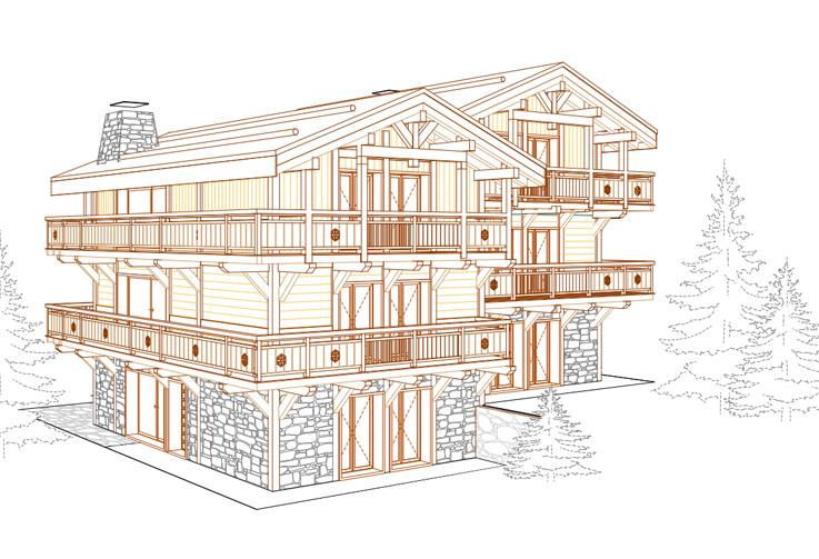Zinal, Polaris Residence