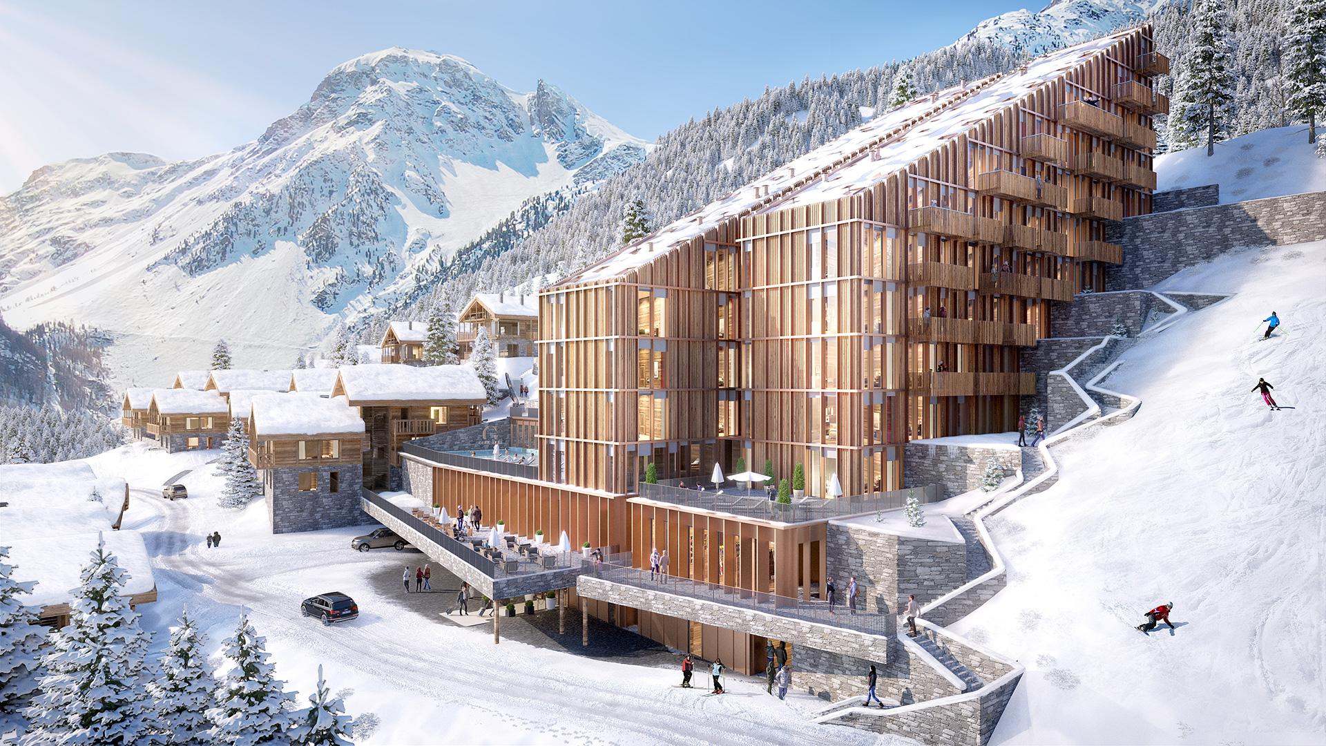 Guerneres Lodges Apartments, Switzerland