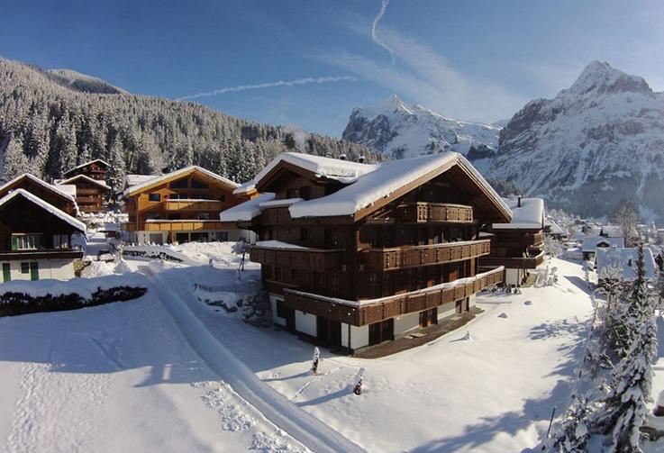 Grindelwald, Branderli