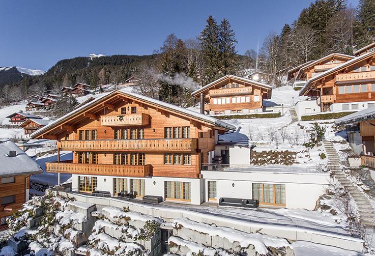 Grindelwald, Chalet Rotstöcki
