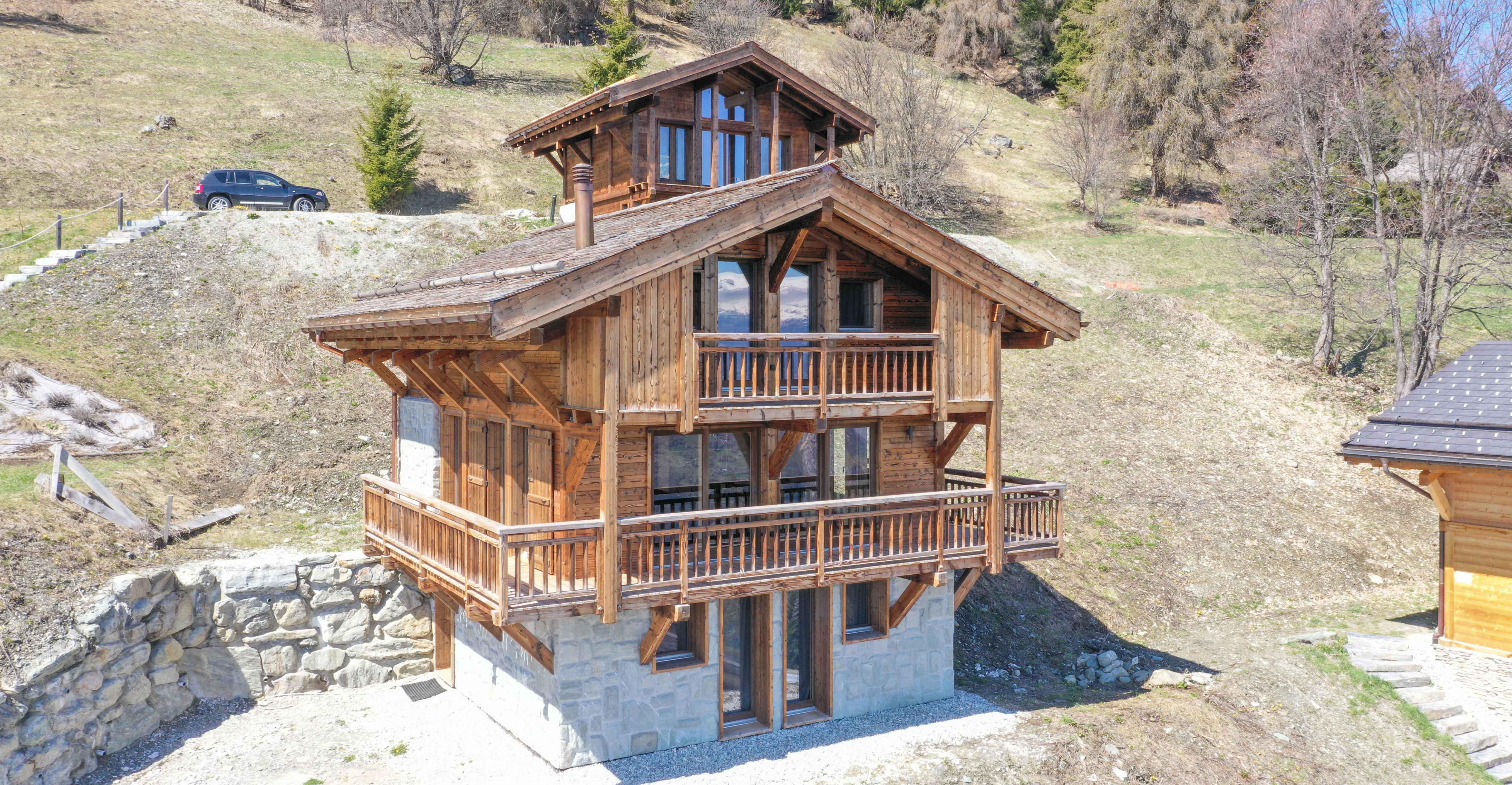 Dent Blanche Chalet, Switzerland