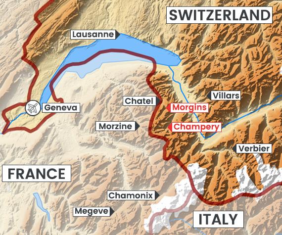 Portes du Soleil (CH) map