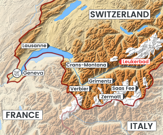 Leukerbad map