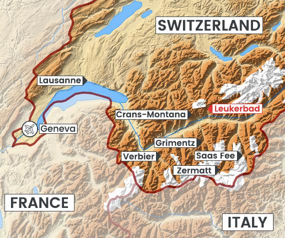 Leukerbad map