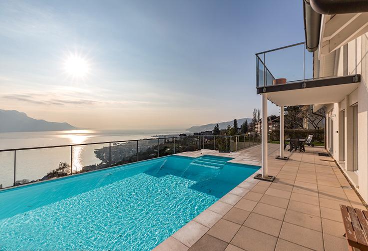 Montreux, Les Hauteurs