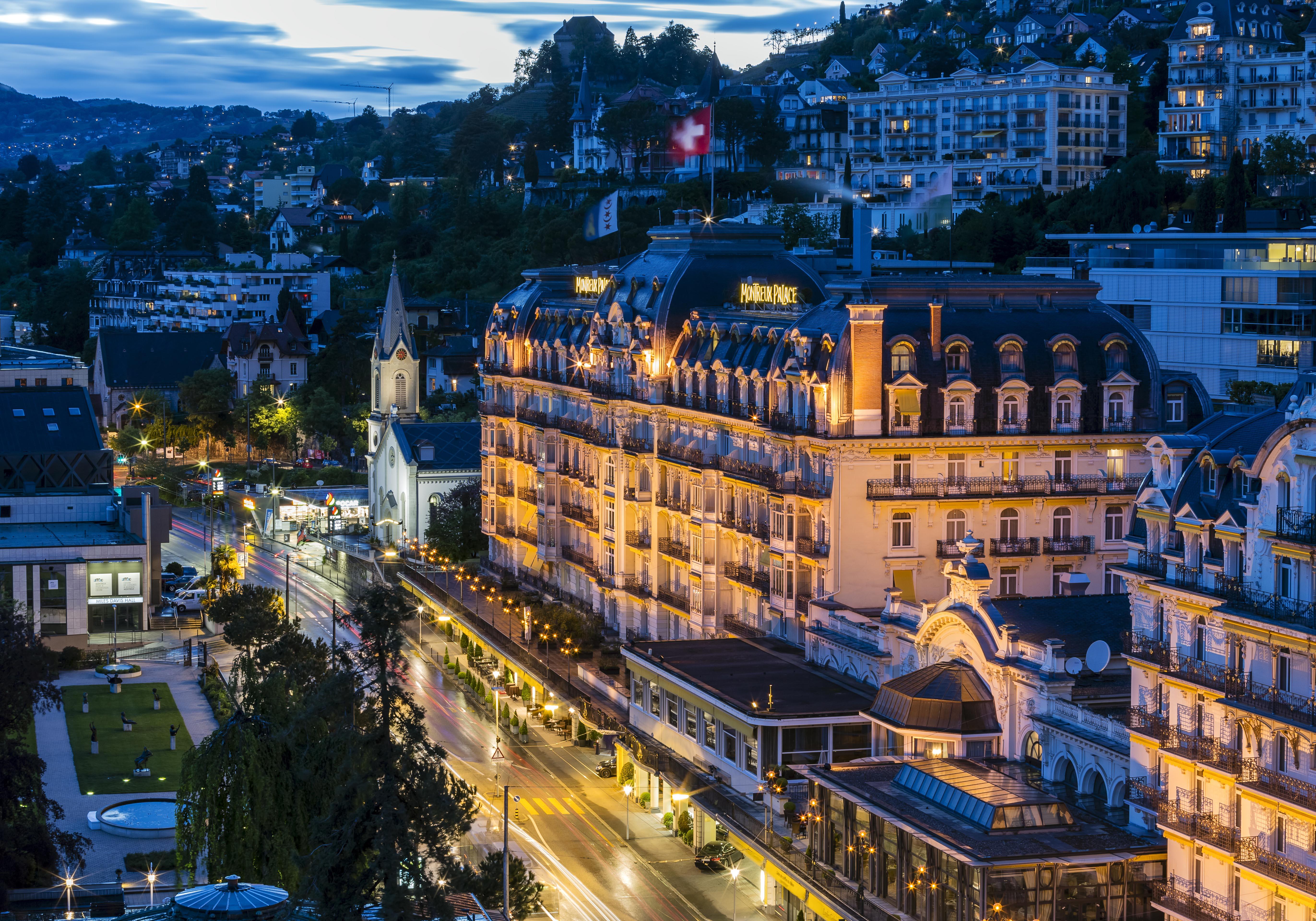 The Town, Montreux, Switzerland