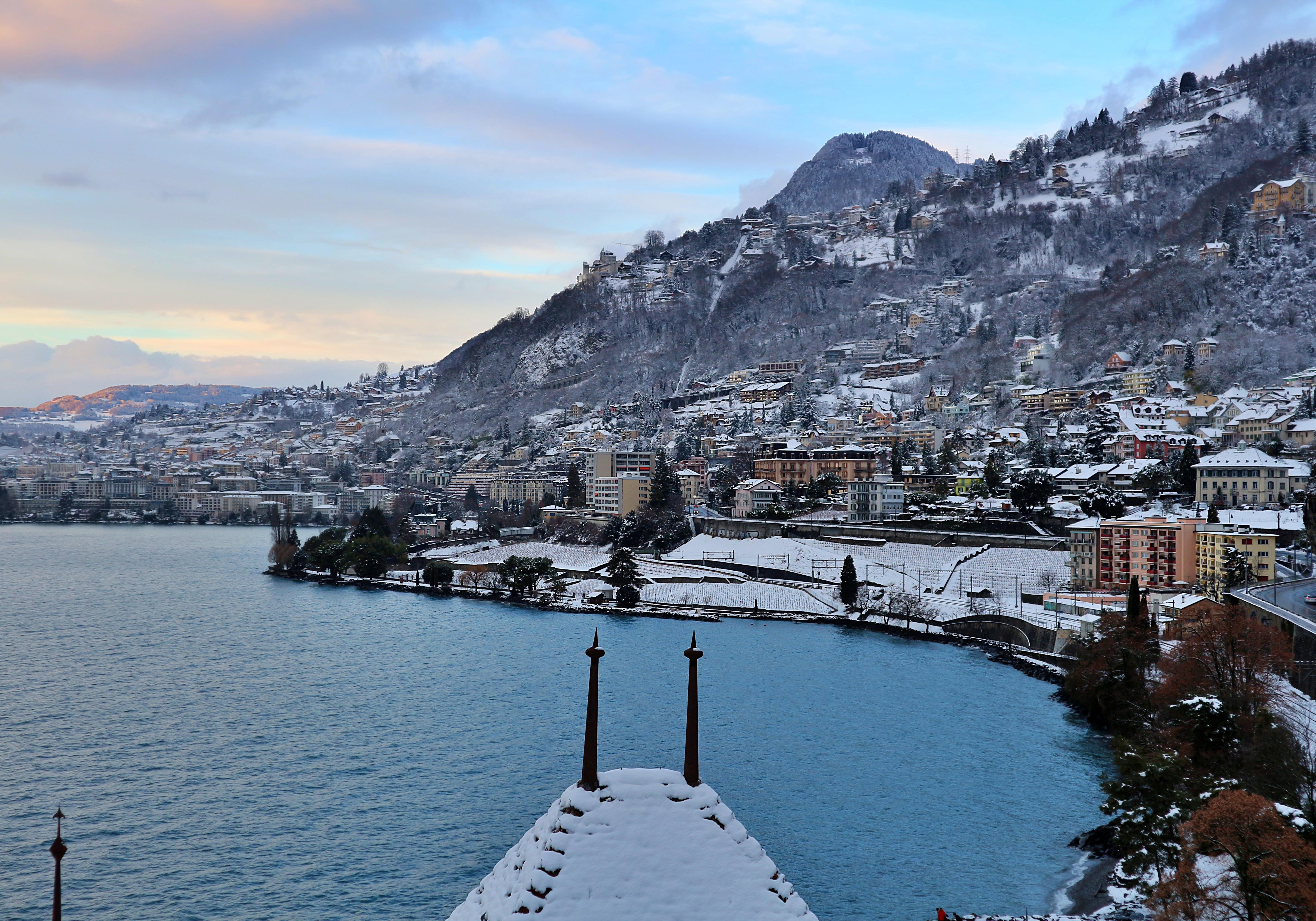 The Skiing, Montreux, Switzerland
