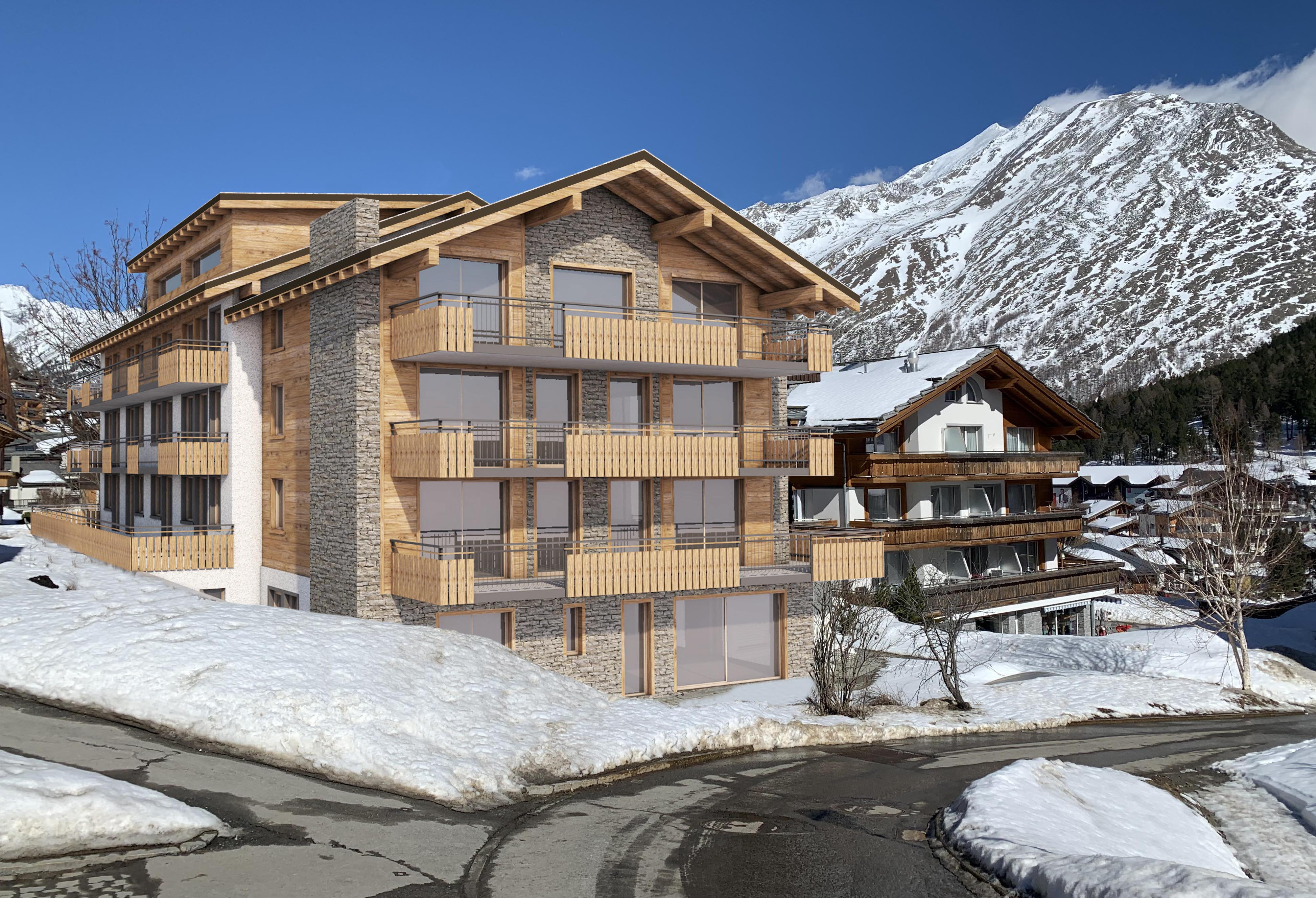 Saas Fee, Berghof Apartments