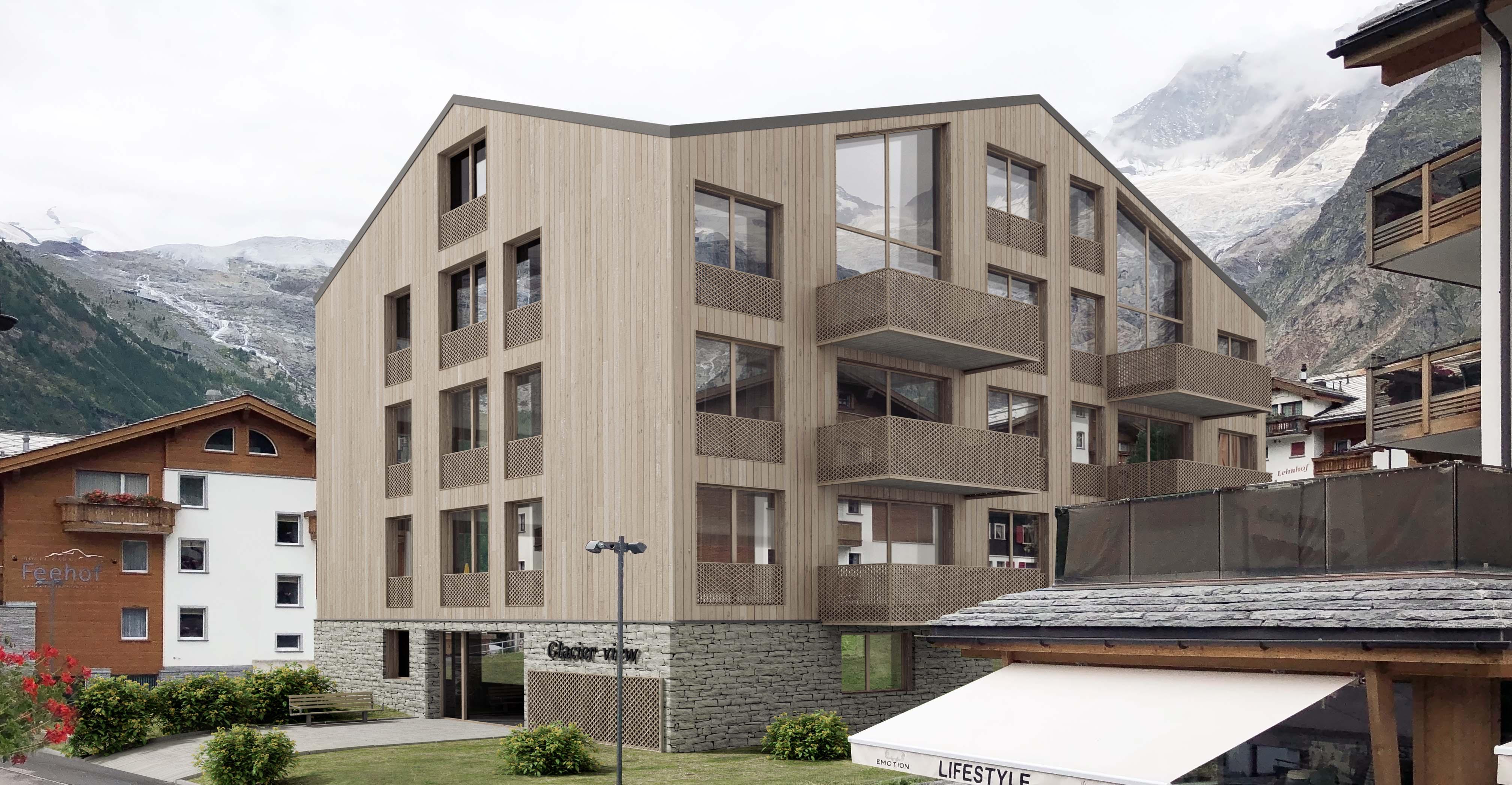 Saastal Village Apartments, Switzerland