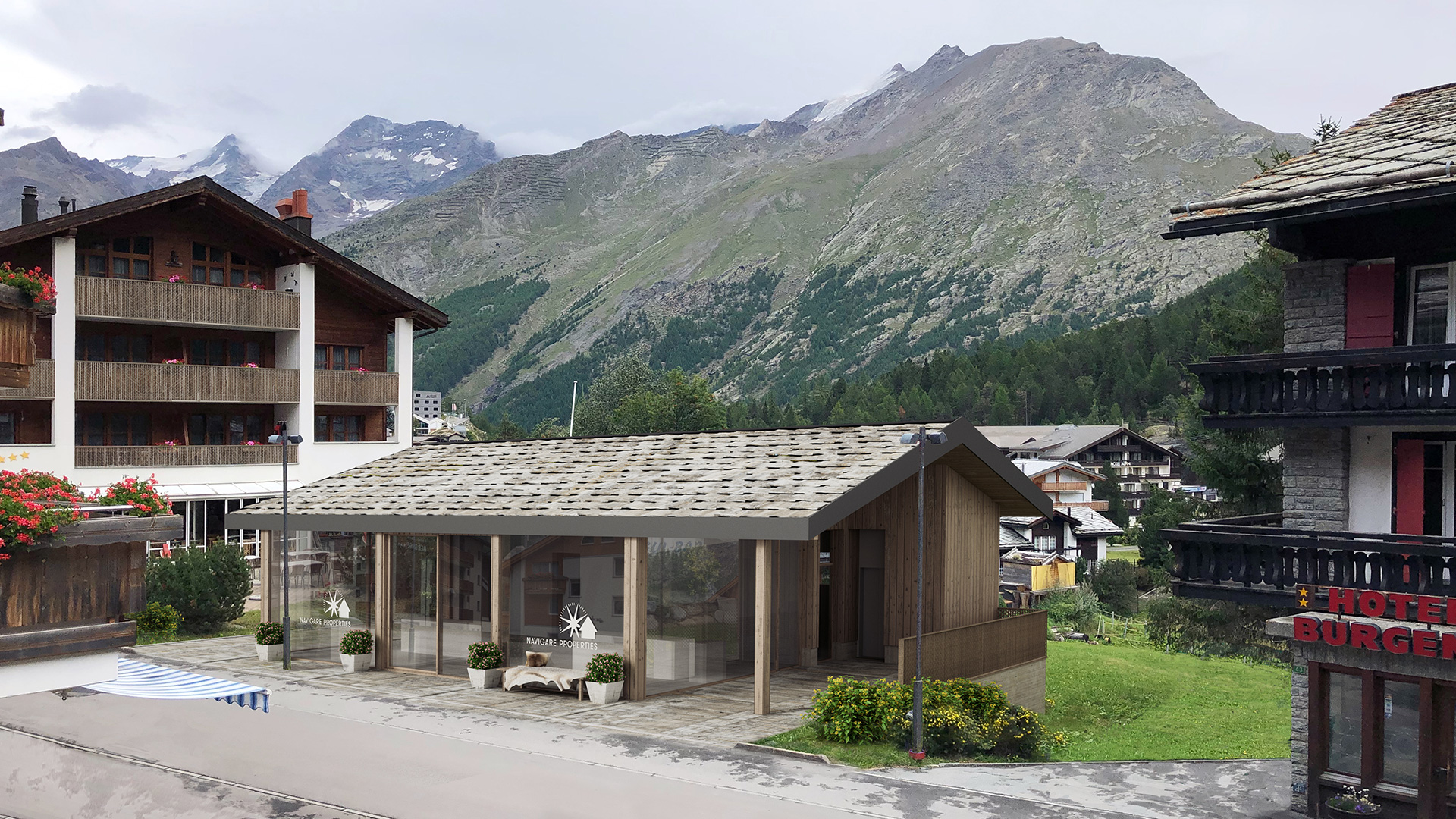 Saastal Village Apartments, Switzerland