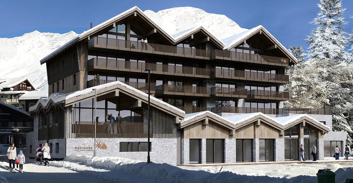 The Grand Apartments, Switzerland
