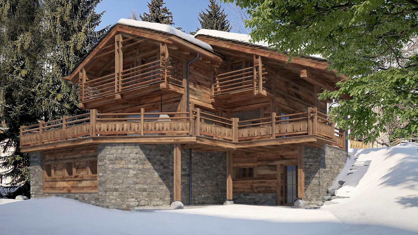 Chalet Le Feuillu Chalet, Switzerland