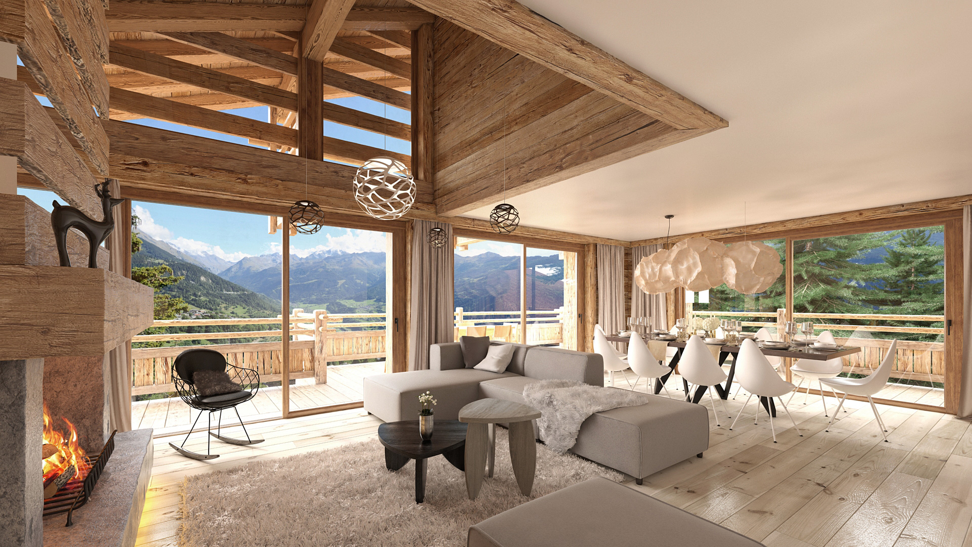 Mayens de Chevillard Chalet, Switzerland