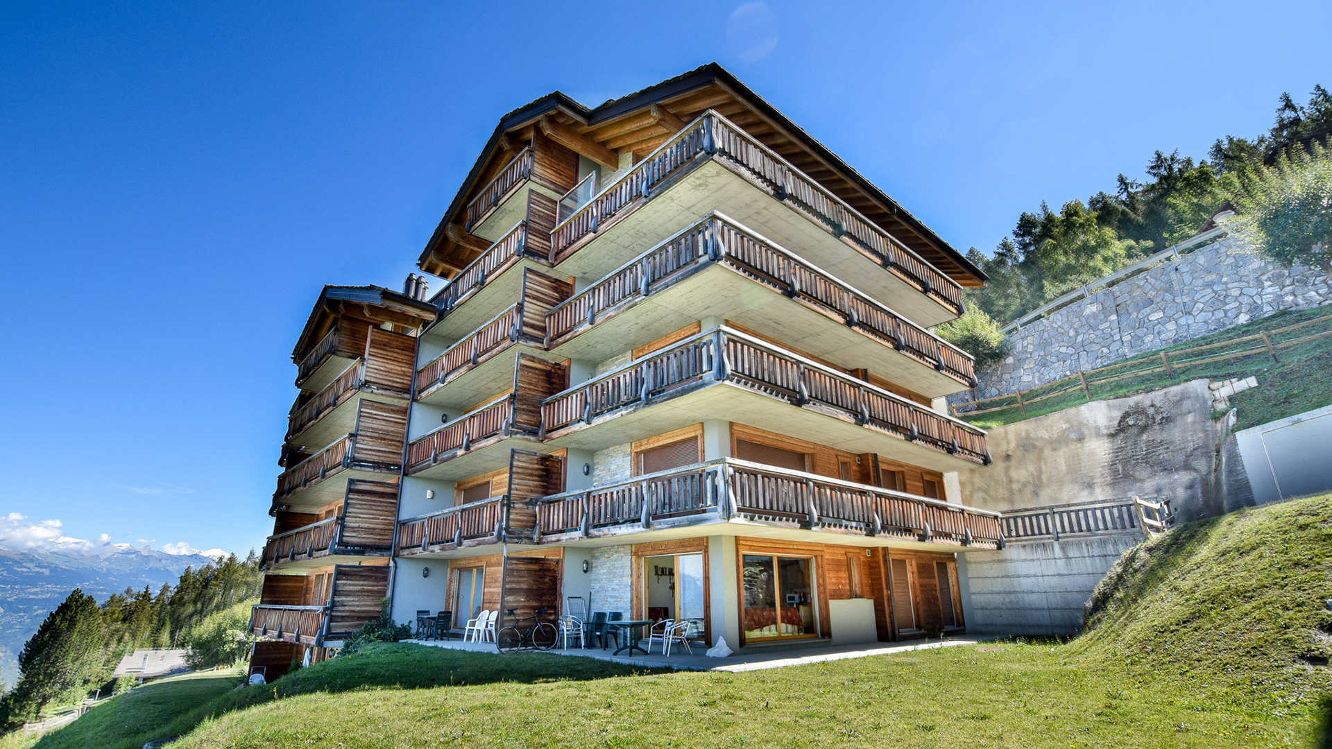 Appartement du Rhone IV Apartments, Switzerland