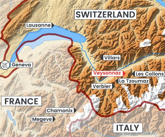 Veysonnaz map