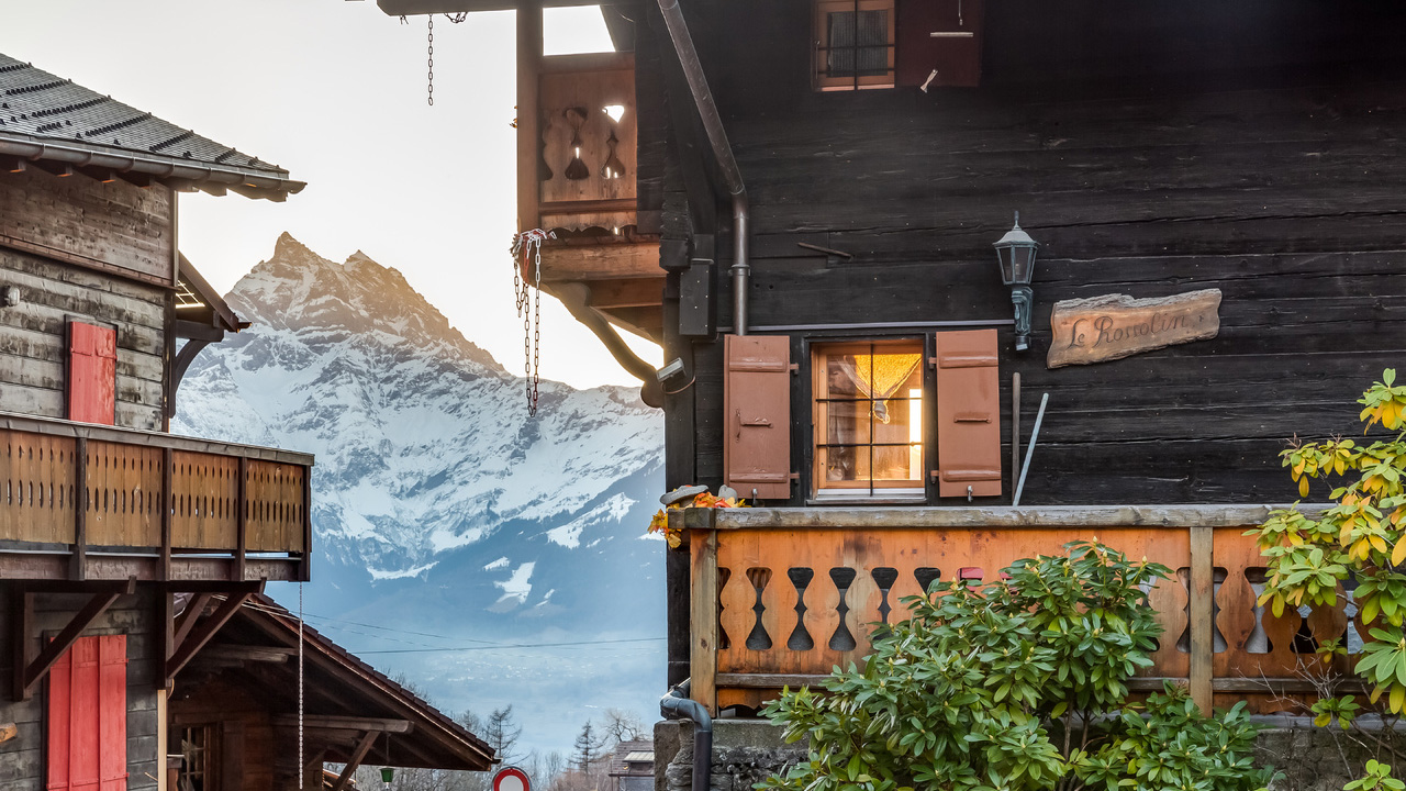 Le Rossolin Chalet, Switzerland