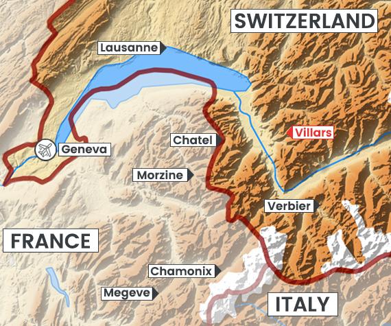 Villars map