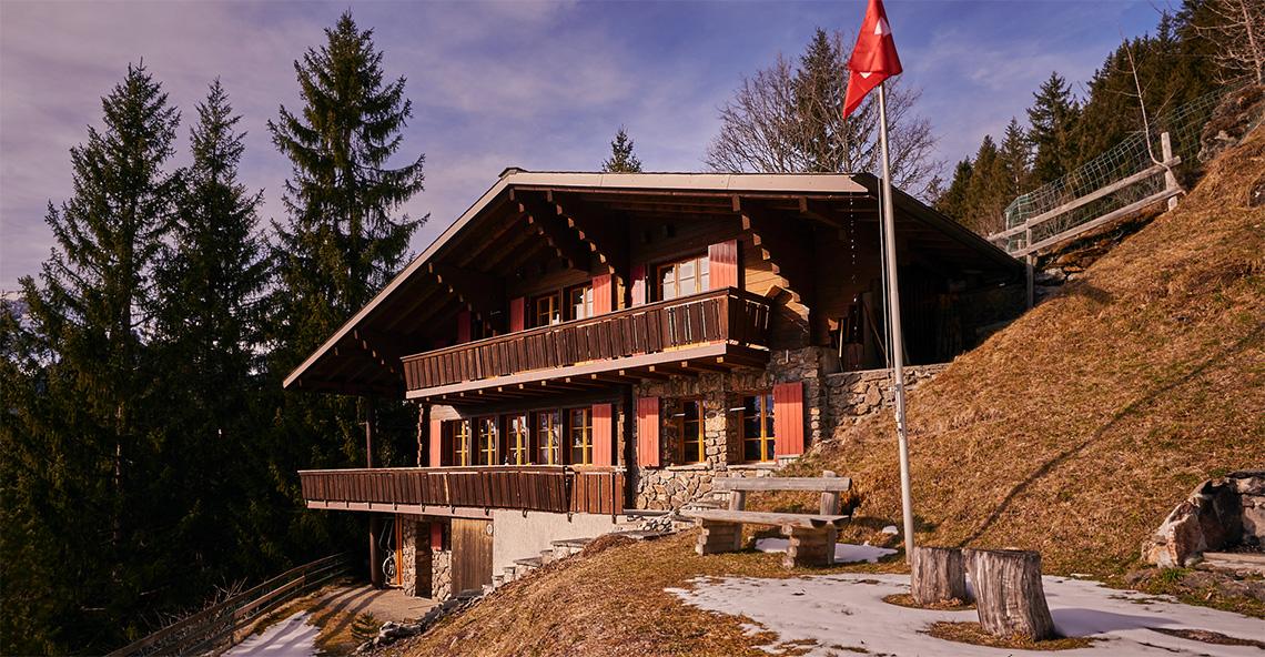 Chalet Fluela Chalet, Switzerland