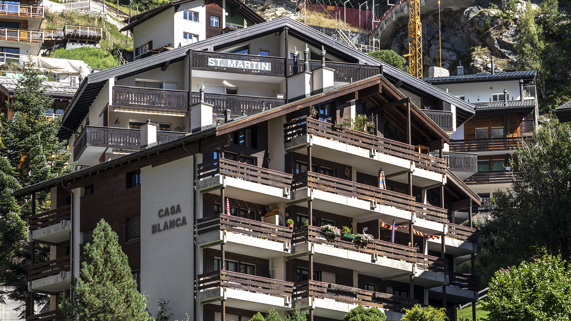 St Martin Apartments, Switzerland