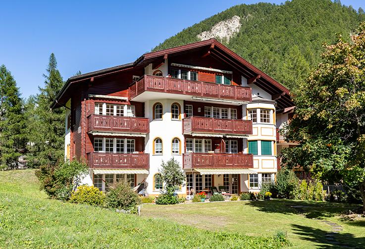 Zermatt, Vira Apt